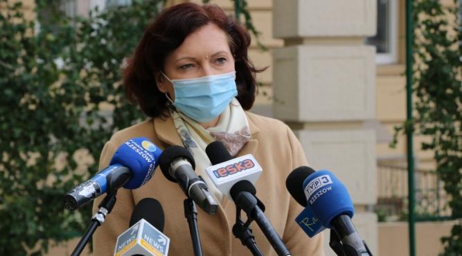 Wojewoda Ewa Leniart fot. rzeszow.uw.gov.pl