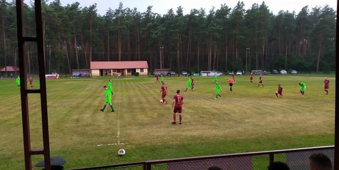 Roztocze Narol przegrało z Orłami 2:0 fot. MKS Roztocze Narol
