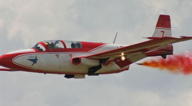 W Baszni Dolnej zobaczymy m.in. pokaz lotniczy PZL TS- 11 Iskra