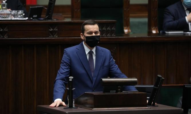 Premier Mateusz Morawiecki fot. https://www.facebook.com/MorawieckiPL