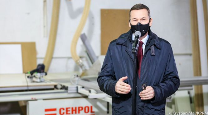 Premier Mateusz Morawiecki fot. Krystian Maj/KPRM