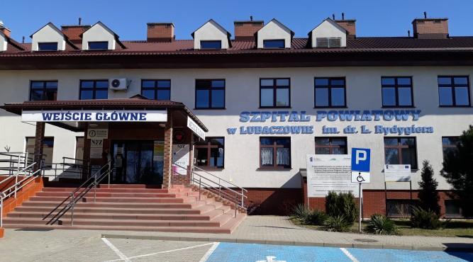 Szpital w Lubaczowie fot. archiwum zlubaczowa.pl