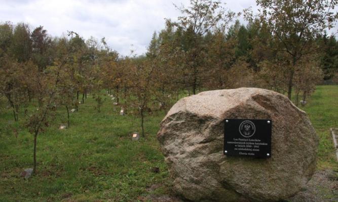 Las Katyński fot. Nadleśnictwo Oleszyce