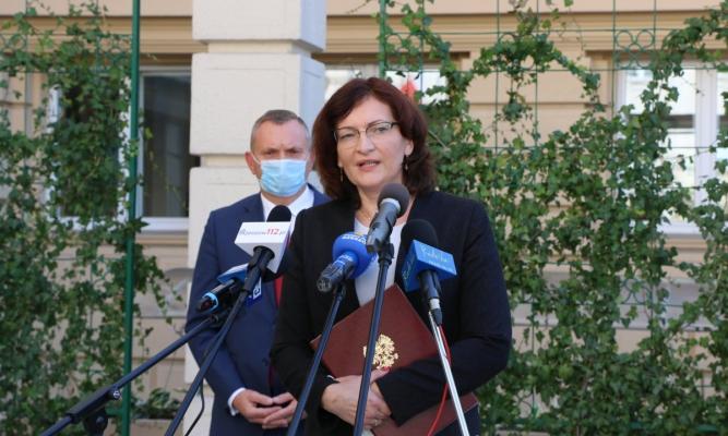 Wojewoda o strategii walki z ASF fot. rzeszow.uw.gov.pl