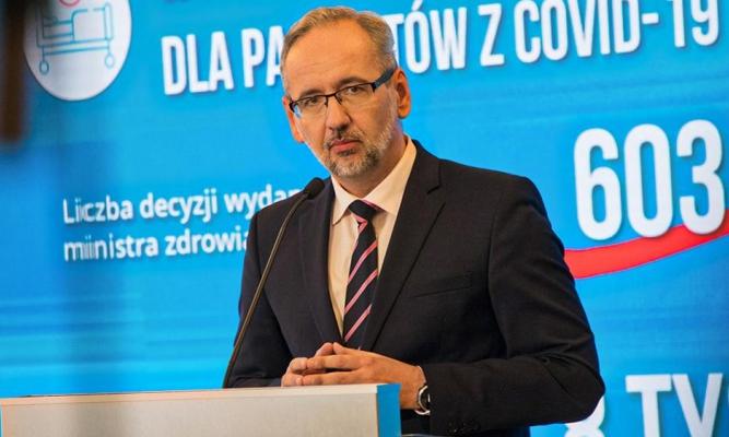 Minister Zdrowia fot. Ministerstwo Zdrowia