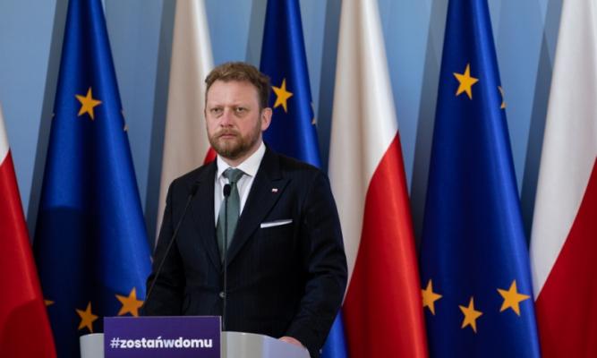 Minister Zdrowia Łukasz Szumowski fot. Adam Guz/KPRM