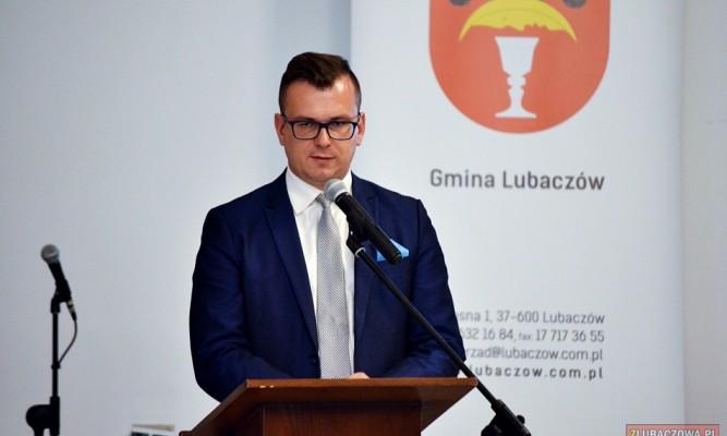 Podsekretarz Stanu w Ministerstwie Inwestycji i Rozwoju Adam Hamryszczak poinformował, że pieniądze na modernizację drogi zostały już wygospodarowane fot. zlubaczowa.pl