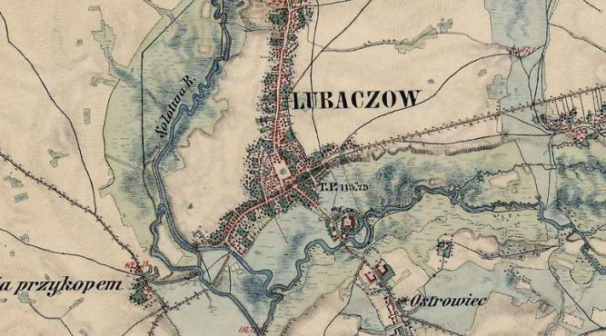 Lubaczów w XIX wieku
