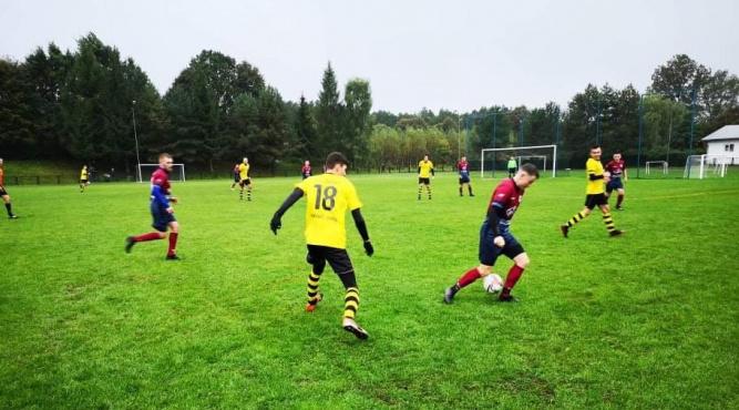 Zdjęcie z meczu Zdrój Horyniec - Rolnik Wólka Krowicka fot. KS Zdrój Horyniec