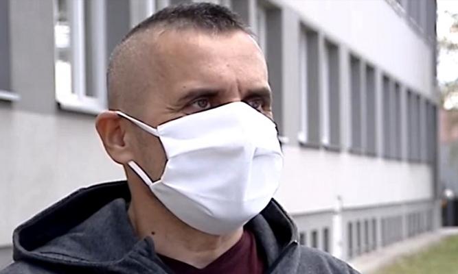 Robert Kornaga fot. kadr TVP Rzeszów
