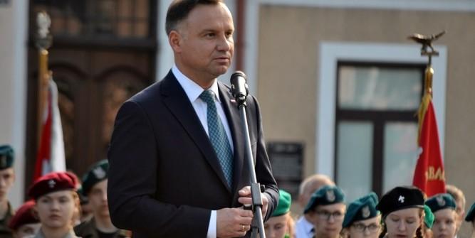 Prezydent Andrzej Duda w Lubaczowie fot. archiwum zlubaczowa.pl