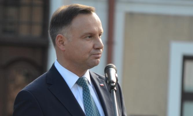 Prezydent Andrzej Duda w Lubaczowie - Zdjęcie ilustracyjne