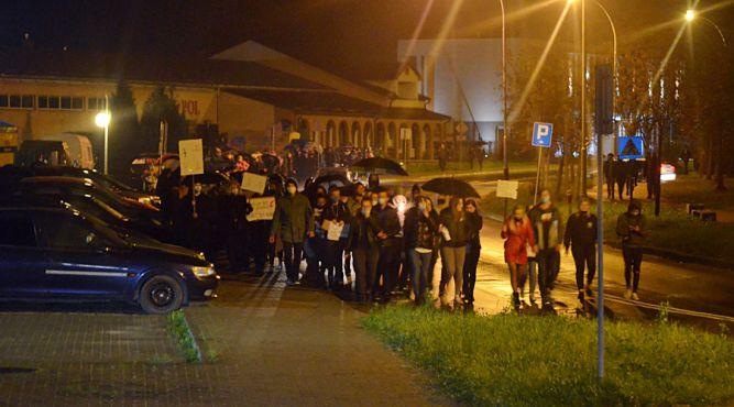 Protest w Lubaczowie