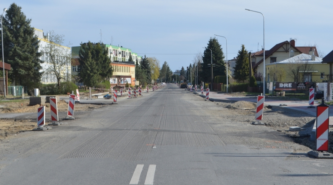 Przebudowa ulicy Słowackiego