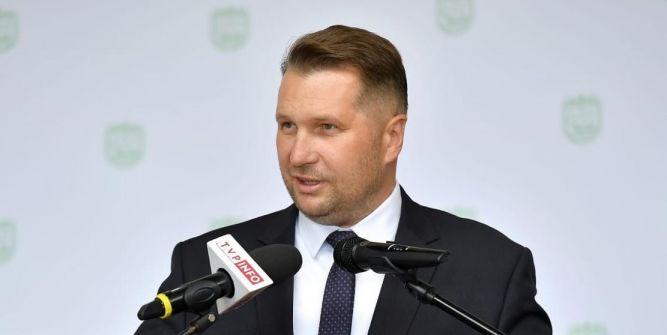 Minister Edukacji i Nauki Przemysław Czarnek fot. MEN