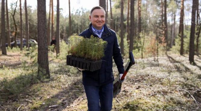 Prezydent Andrzej Duda fot. Jakub Szymczuk/KPRM